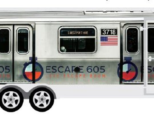 Escape 605 has started a mobile escape room with a subway theme.