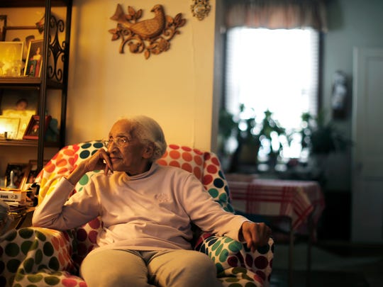 Annie Shanks, 99, the official elder of South Cumminsville