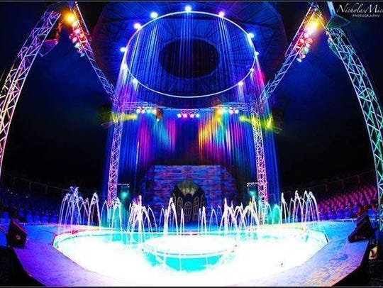 Cirque Italia will give performances in the Empire