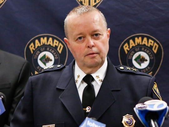 Ramapo Police Chief Brad Weidel