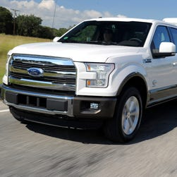 Sales are picking up for the 2015 Ford F150