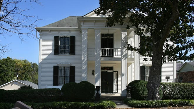 The Lotz House in Franklin opened for tours in 2008.