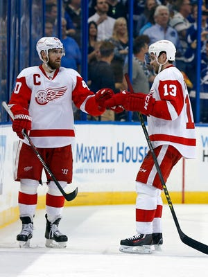 Henrik Zetterberg and Pavel Datsyuk have been the Red Wings' leaders the last few years. Who'll step up in their roles over the next few years?