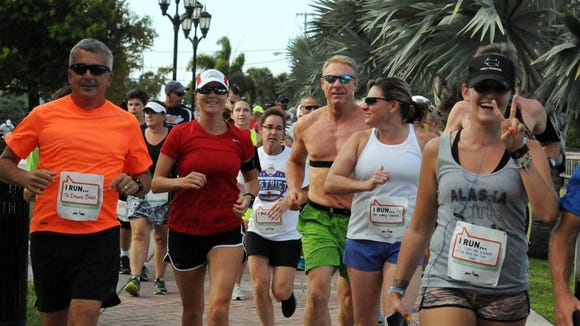 The Battle of Brevard Fun Runs brings running clubs from across the county together for a little friendly competition.