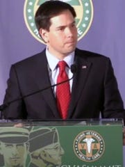 Sen. Marco Rubio, R-Fla., addressed a health-care summit