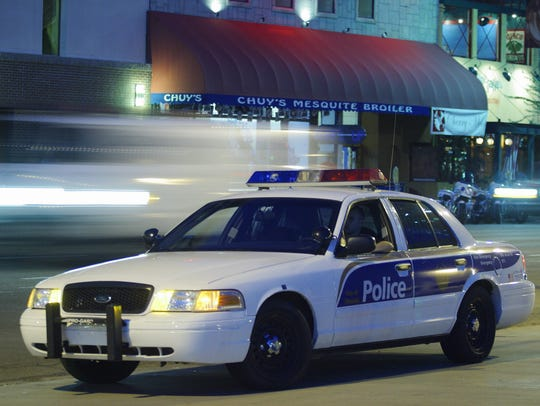 Phoenix police car.