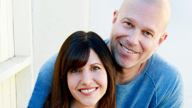 """Old Bridge native Steve Prussack and his wife, Julie, extol the virtues of juicing in their new book, """"Juice Guru: Transform Your Life by Adding One Juice a Day."""""""