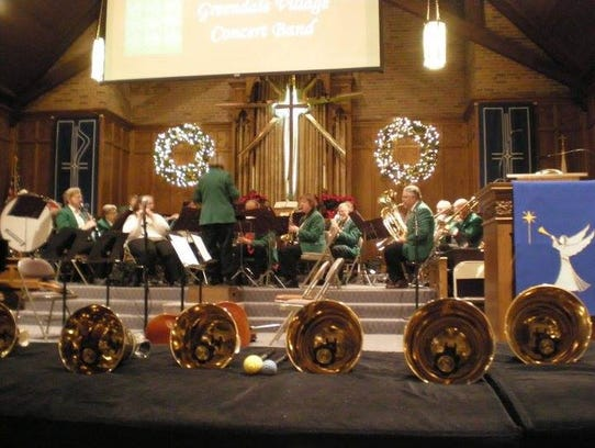 The Greendale Concert Band in concert at Memorial United