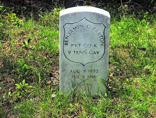 One of Dolly Parton's ancestors is buried in what's