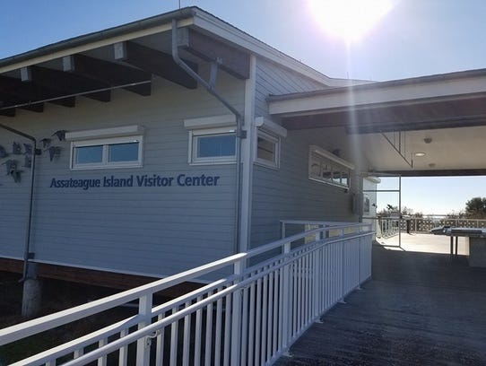 The Assateague Island Visitors Center is closed as