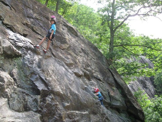 Climbmax Climbing Center offers classes and camps for teenagers and younger.