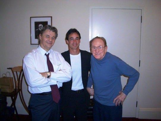 Steve Miller, Michael Braunstein and Les Paul