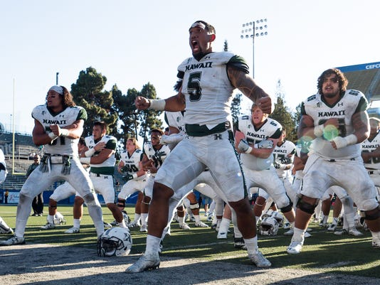 NCAA Football: Hawaii at San Jose State