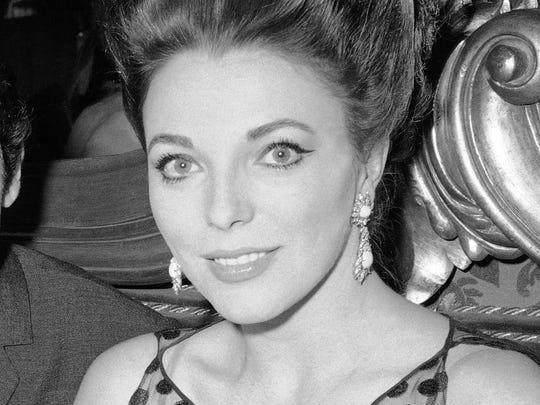 In this May 28, 1963 file photo, British actress Joan