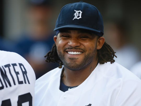 Prince Fielder with the Tigers in 2013.