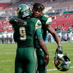 USF football player Hassan Childs shot, arrested after road rage incident