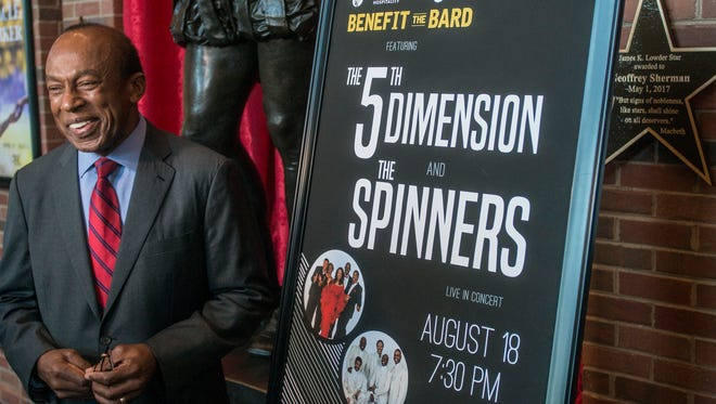 Ed Crowell, executive director of the Alabama Shakespeare Festival, was a driving force behind the selection of The 5th Dimension and The Spinners to headline the 2018 Benefit the Bard concert on August 18.