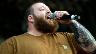 May 5, 2018 - Action Bronson performs on the FedEx Stage during the Memphis In May Beale Street Music Festival.