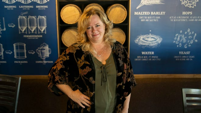 JoAnn Elardo is the owner of Wicked Dolphin Distillery and Big Blue Brewing in Cape Coral.
