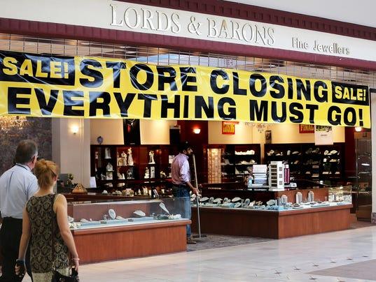 Mall store closing B