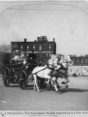 Firefighting has come a long  way since the horse-drawn