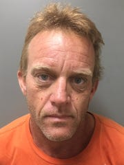 Christopher McCurdy, 49, pleaded guilty Thursday, May 16, 2019, and was sentenced to nine years in prison for robbing a Desert Hot Springs resident, then fleeing to a hotel, stripping naked and diving into the pool to disguise his appearance.