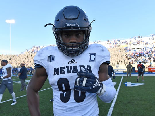 Former Nevada defensive star Malik Reed made his professional debut in a Thursday NFL exhibition.