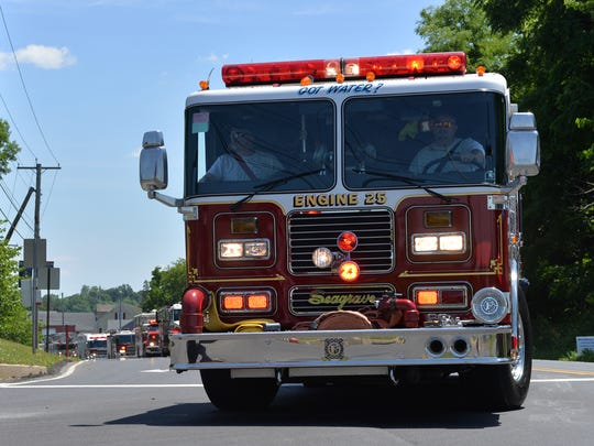 The 2018 Lebanon County Firefighters Association Convention Parade was held Saturday, June 16, 2018. The host company was the Ebenezer Fire Company, located in North Lebanon Township.