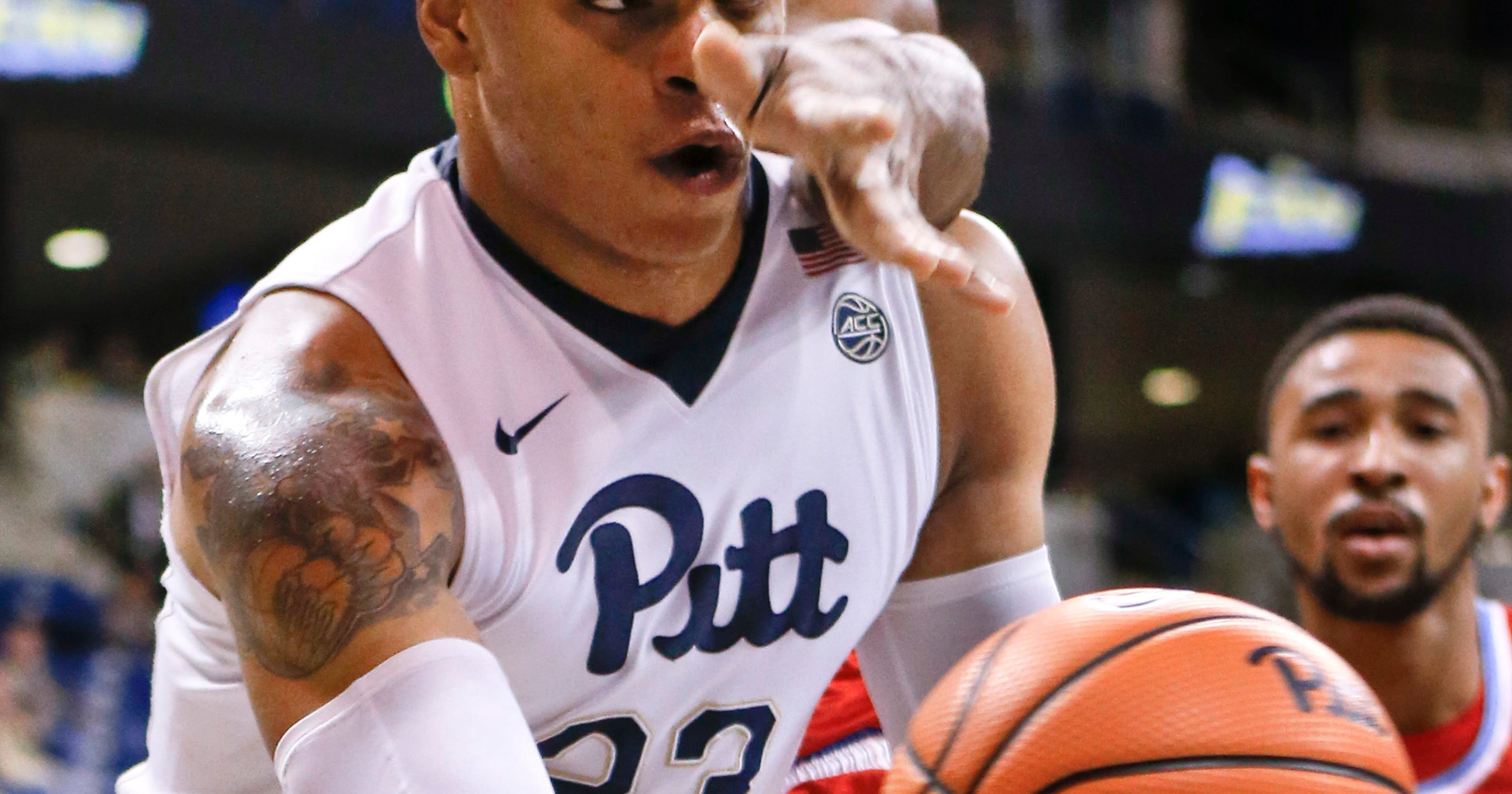 the latest 5a57d ce429 Milligan leads Pitt past Delaware State 74-68