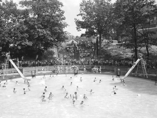 From The Archives Moores Park Pool