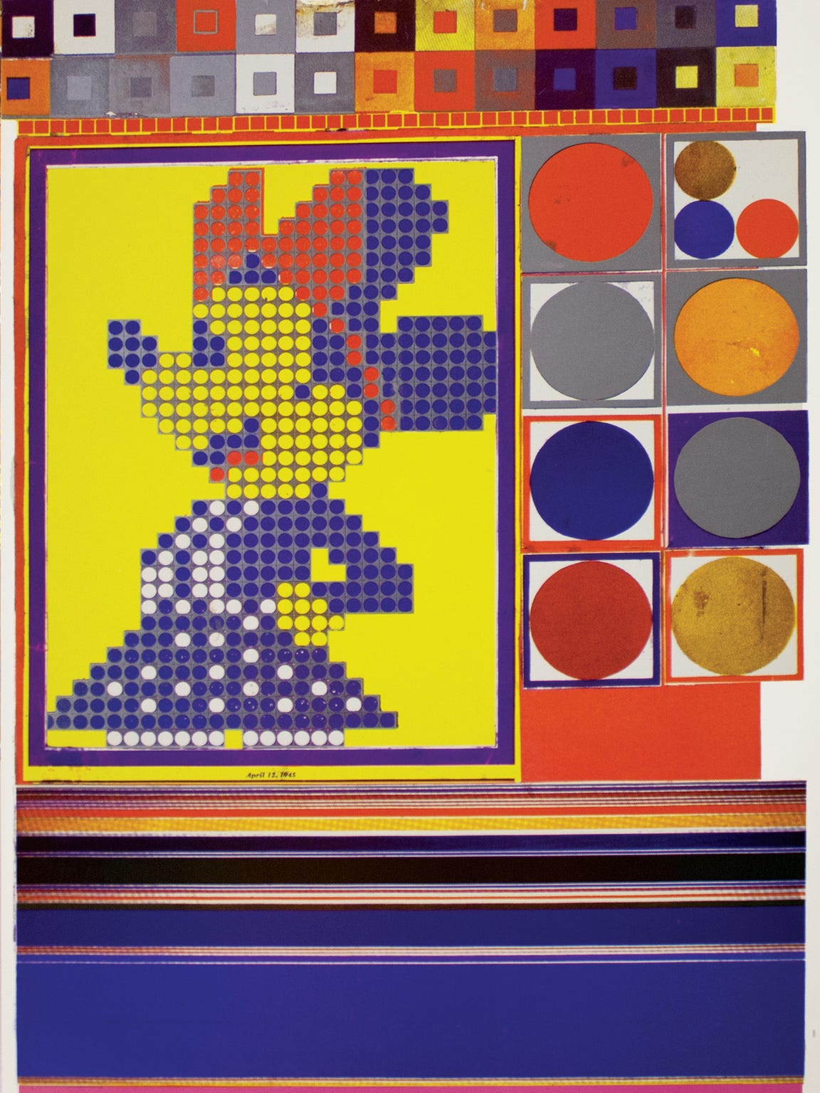 Eduardo Paolozzi is considered one of the founders