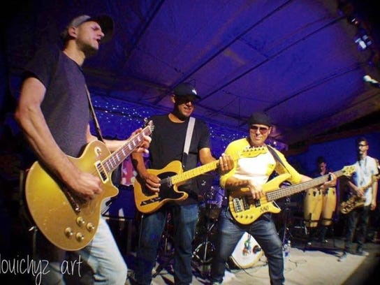 Moska Project will perform at 8 p.m. Saturday on the