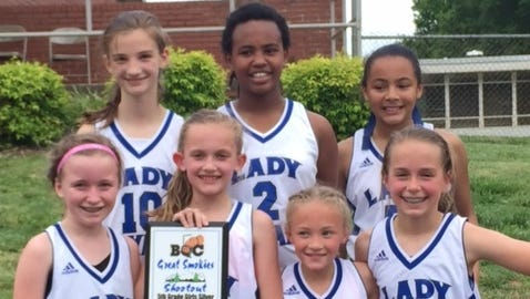 The WNC Lady Royals fifth-grade basketball team won the silver bracket of the Great Smokies Shootout tournament played last weekend in Hickory.