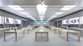 The Apple Store in Dijon, France.