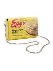 Eggo waffle purse.