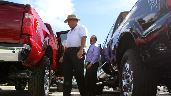 Bobby Collins, Coconut Point Ford's general sales manager,