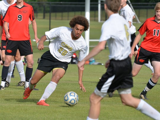 Central Magnet's Zavior Phillips has 39 goals this