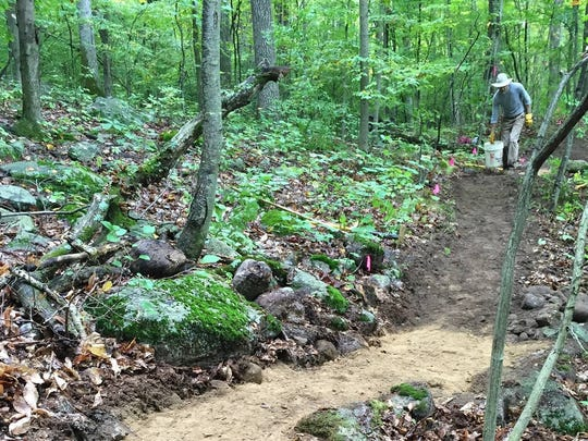 Mountain bikers said they plan to help maintain the 13.5-mile trail coming to Union County's Watchung Reservation.
