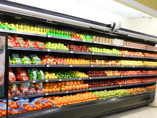 An expanded selection of fresh produce is just one