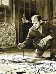 Jackson Pollock lived on a small Arizona farm as a