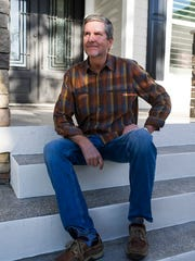 Dan Dodrill in his Horse  Creek home.