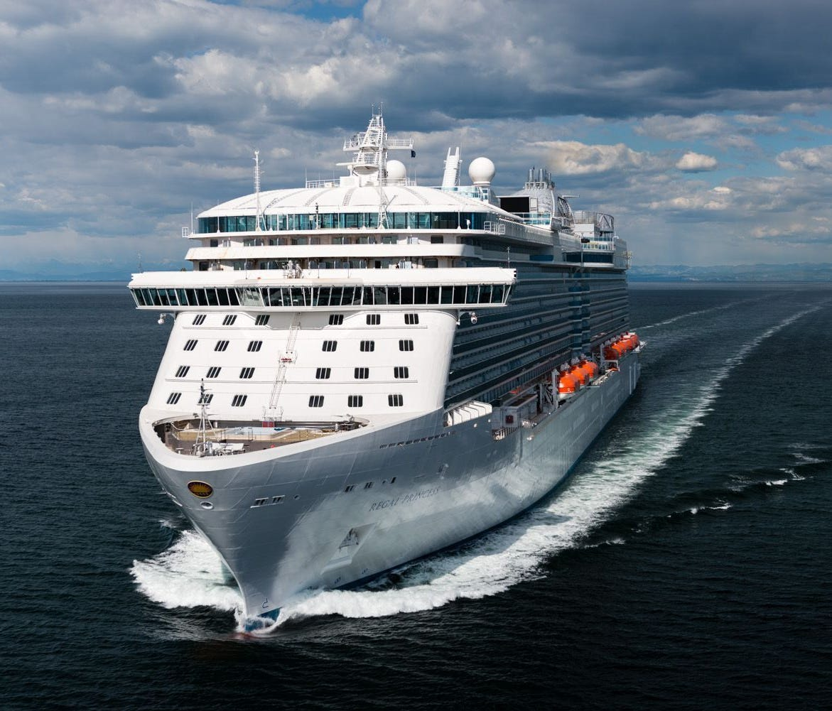 Destined for China, Princess' next ship will be similar to the recently unveiled Regal Princess.