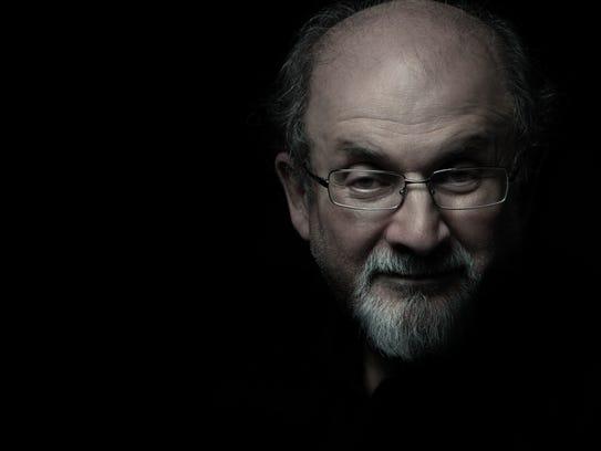 Author Salman Rushdie.