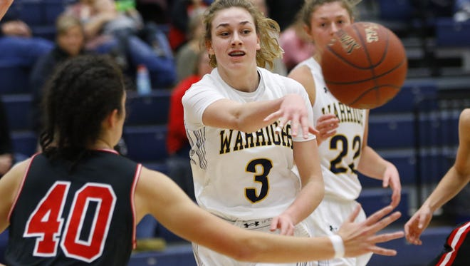 Wausau West junior Kadie Deaton had 32 points in a loss to Stevens Point Area Senior High last Friday.