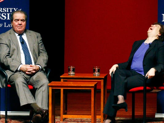 Antonin Scalia, Elena Kagan