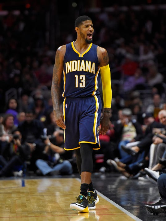 Paul George named Eastern Conference player of the month