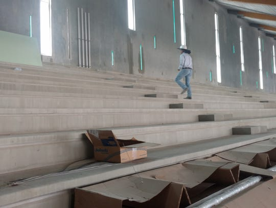 The facility will have bleachers for more than 700