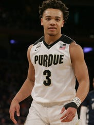 Carsen Edwards led Purdue in scoring as a sophomore as the Boilers made it to the Sweet 16.