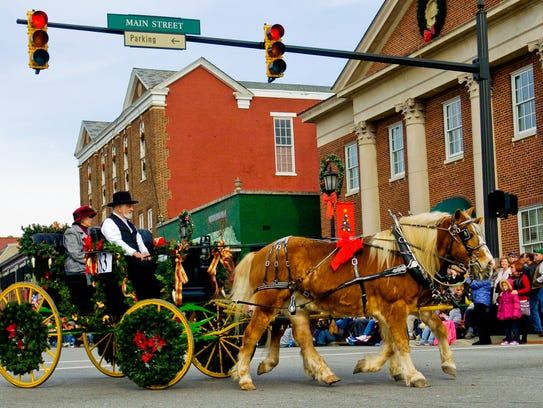 The Horse-Drawn Carriage Parade in Lebanon is sure