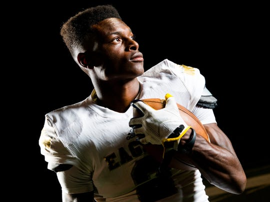 Independence's T.J. Sheffield poses for a portrait